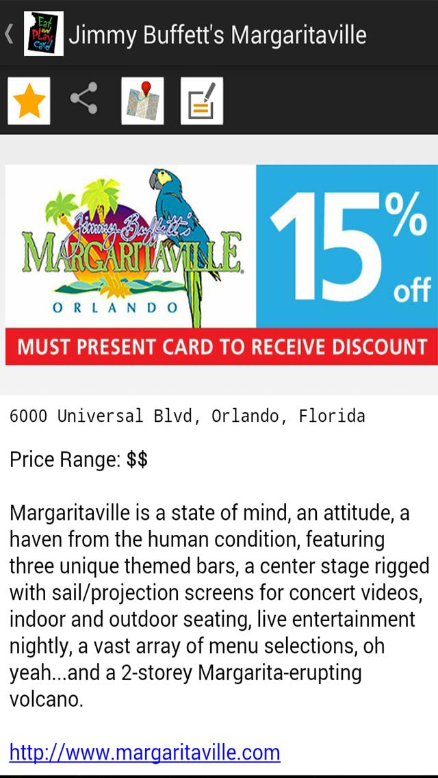 App page_Jimmy Buffett's Margaritaville